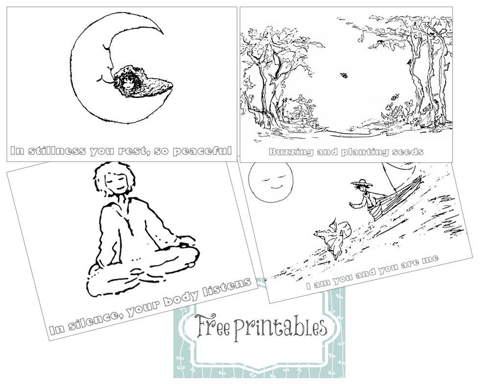 free printables for In Stillness