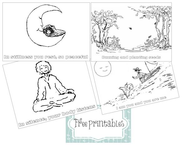 free printables for In Stillness