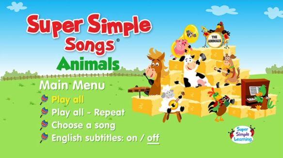 sss animals DVD