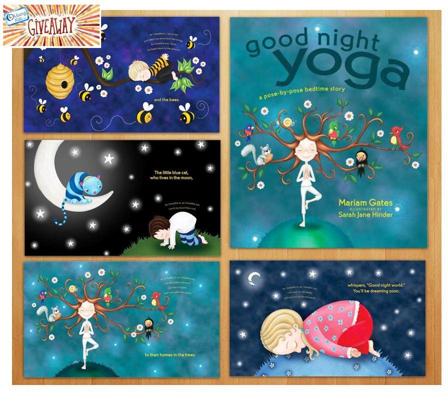 Good Night Yogs book giveaway