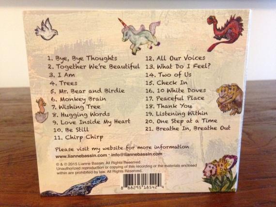 Breathe In CD back
