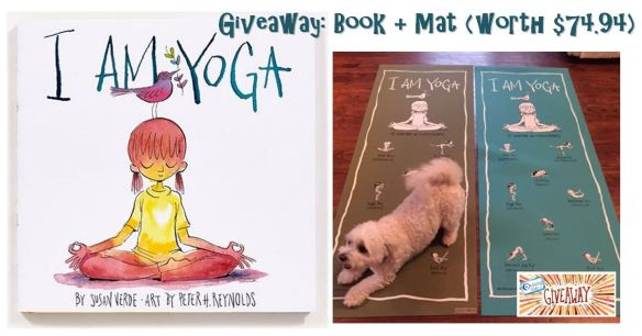 I am yoga book and mat giveaway