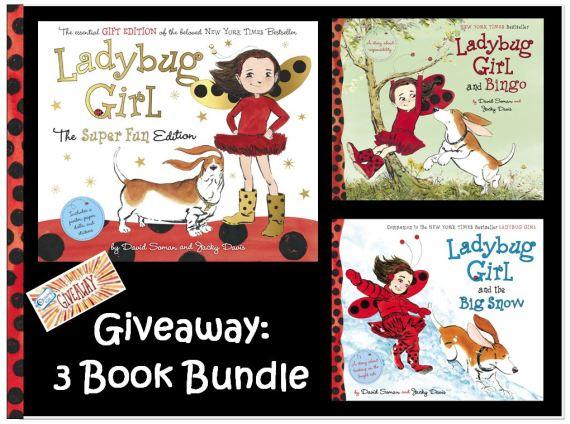 Ladybug Girl 3 book bundle giveaway
