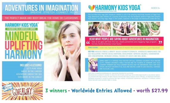 Harmony Kids Yoga DVD Giveaway