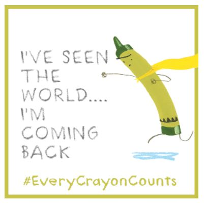 crayon coming back