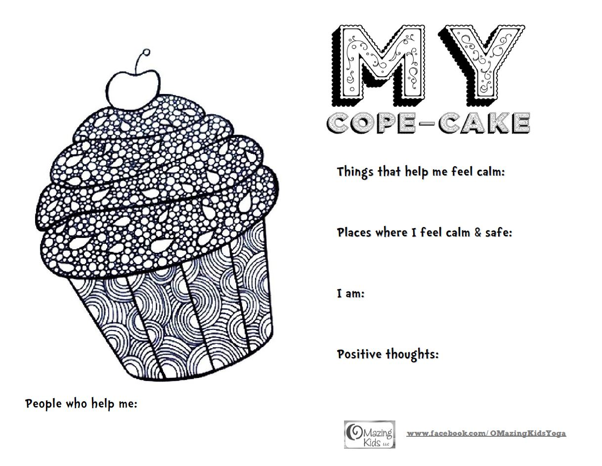 My Cope-Cake: free printable from OMazing Kids | OMazing Kids