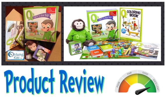 OMazing Kids Review - Q's Race to the Top Bundle