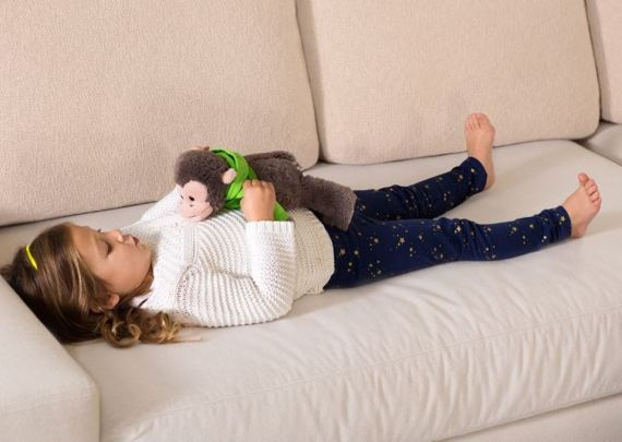 Q-Time belly breathing pic (from the Kohl's website)