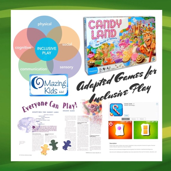 Adapted Games For Inclusive Play - Candy Land