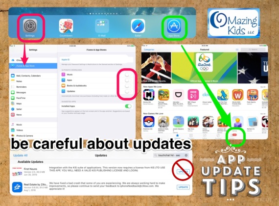 Why automatic app updates are a bad idea and how to manually update iOS apps
