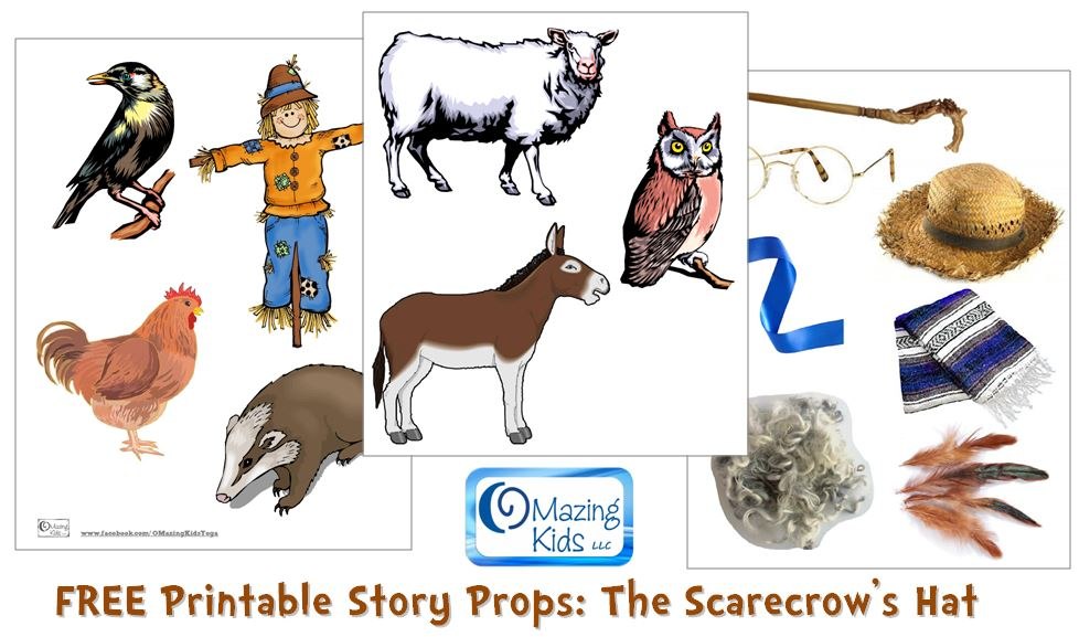 image relating to Printable Scarecrows named The Scarecrows Hat by means of Ken Brown: absolutely free printable tale props