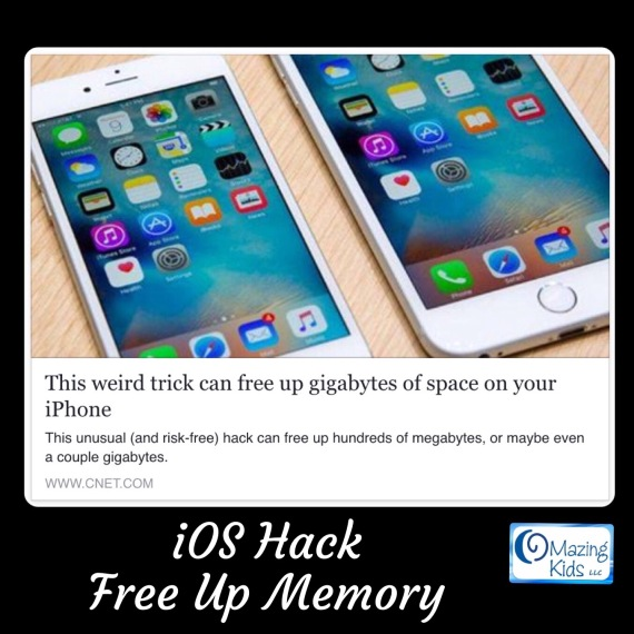 { iOS Hack } Free up memory on your iPhone or iPad ...