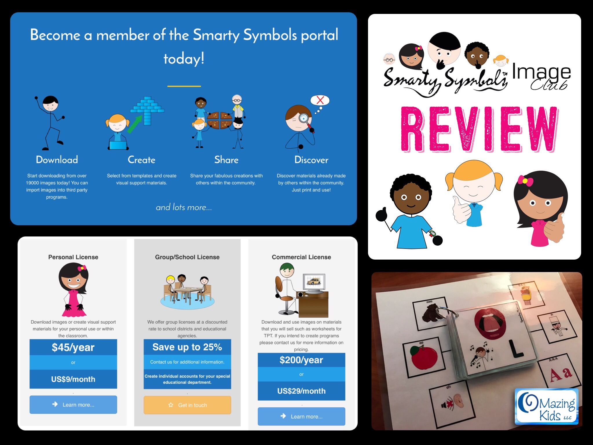 Review Smarty Symbols Image Club Omazing Kids