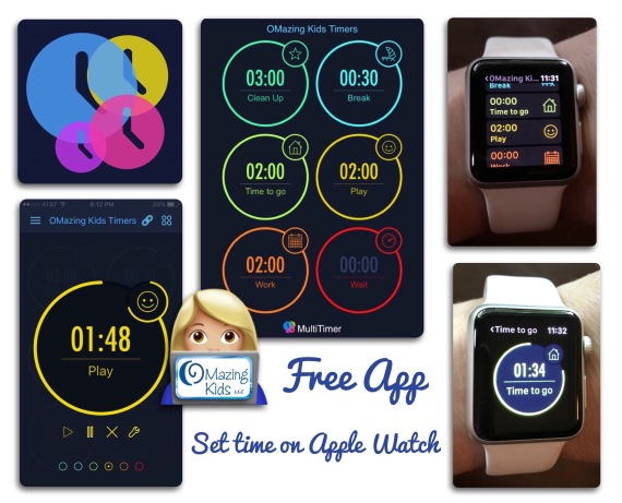 free visual timer app adjustable directly on apple watch omazing