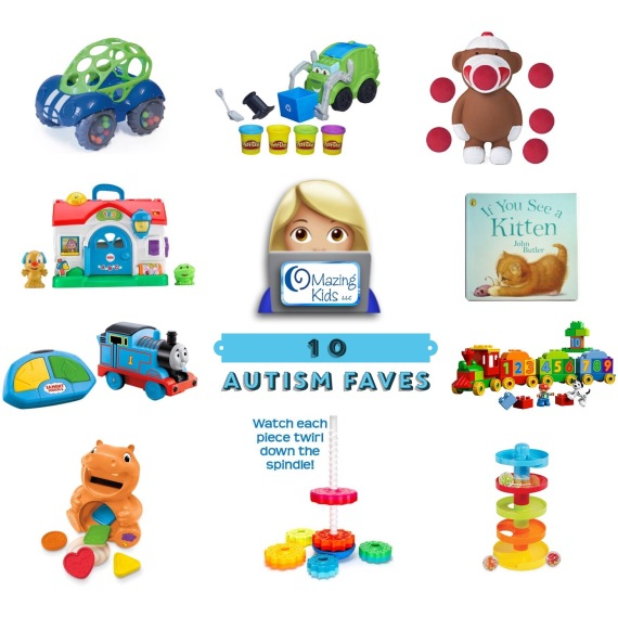 """10 Toys For Autistic Boy : Autism faves nine toys a """"must have book omazing kids"""