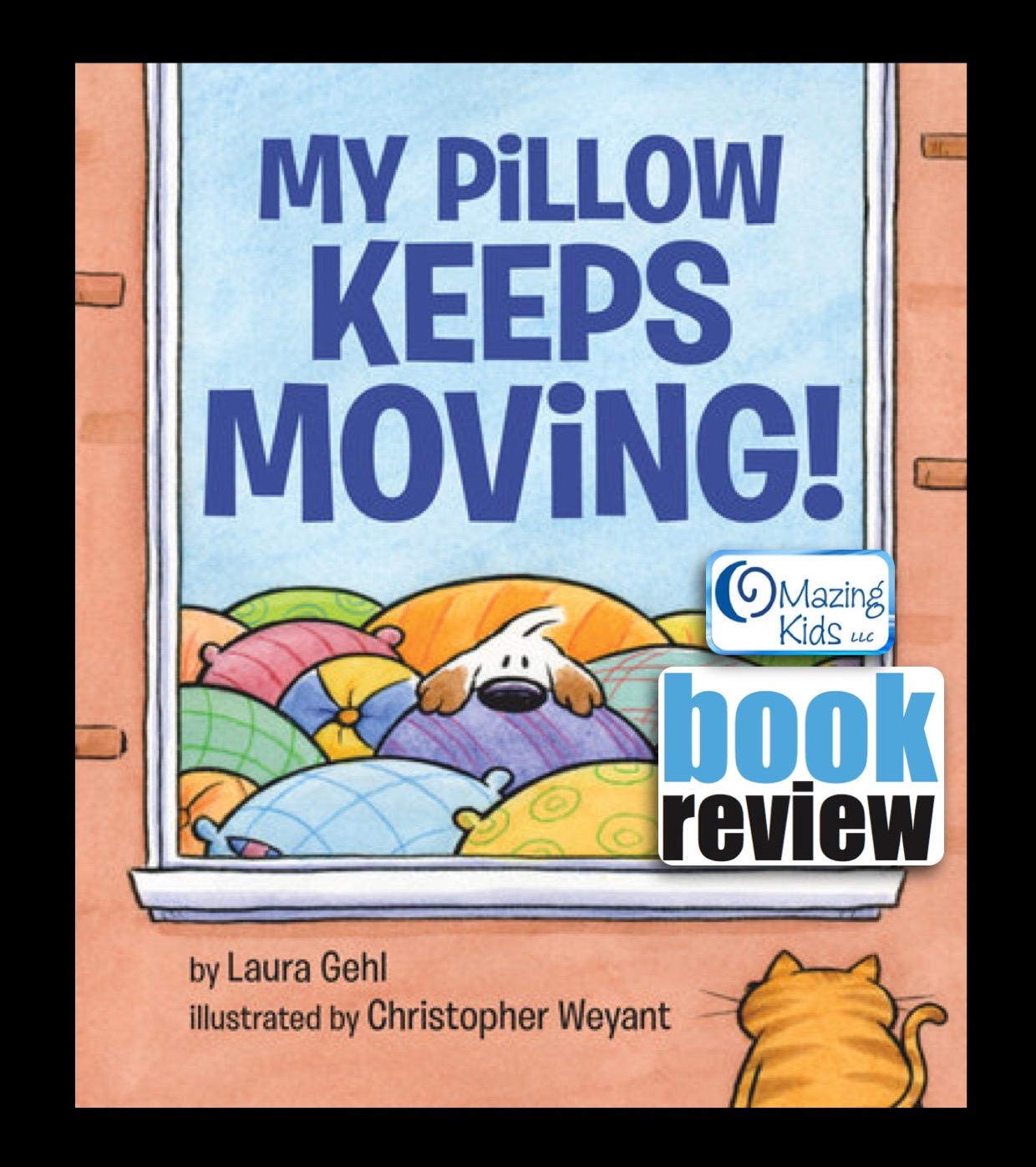 book review my pillow keeps moving by laura gehl